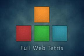 Play Full Web Tetris