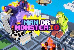 Play ManOrMonster.io