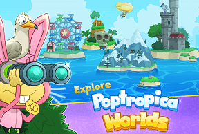 Play Poptropica Worlds