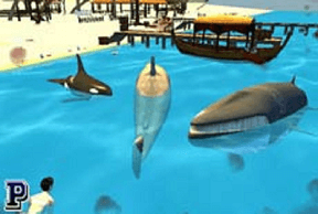 Play Shark Simulator: Beach Killer